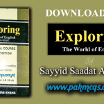 Download Now Ilmi Exploring The World of English in PDF
