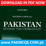 PAKISTAN BEYOND THE CRISIS STATE DOWNLOAD IN PDF NOW