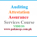Auditing, Attestation and Assurance Services Course CPA Exams FPSC TEST