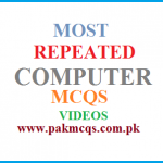 MOST REPEATED COMPUTER MCQS FOR FPSC NTS OTS