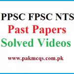 PPSC FPSC NTS Past Papers Solved Videos