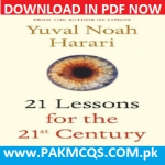 Download Now 21 Lessons for the 21st Century By Yuval Noah Harari