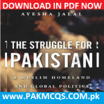 Download The Struggle For Pakistan By Ayesha Jalal in PDF