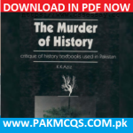 Download Now The Murder of History by K K Aziz in PDF
