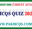 Pakistan Current Affairs 2020 MCQS and Quiz