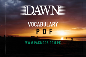 Dawn Vocabulary pdf