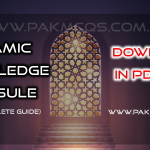 Islamic Knowledge Capsule the Complete guide in PDF