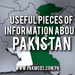Useful pieces of information about Pakistan