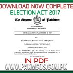 Complete Election commission Act 2017 in PDF