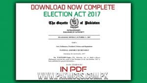 Complete Election Act 2017 file in PDF