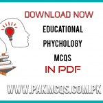 Educational Psychology MCQS in PDF
