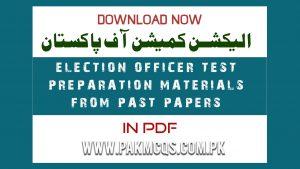 Election Officer test preparation Materials (pakmcqs.com.pk)