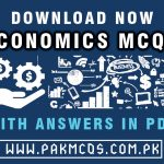 Economics Mcqs in PDF with Answers 2021