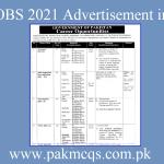 FIA Jobs 2021 Advertisement in PDF