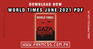 Download Now June 2021 World Times in PDF
