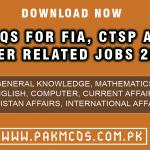 MCQS FOR FIA CTSP Jobs 2021 IN PDF